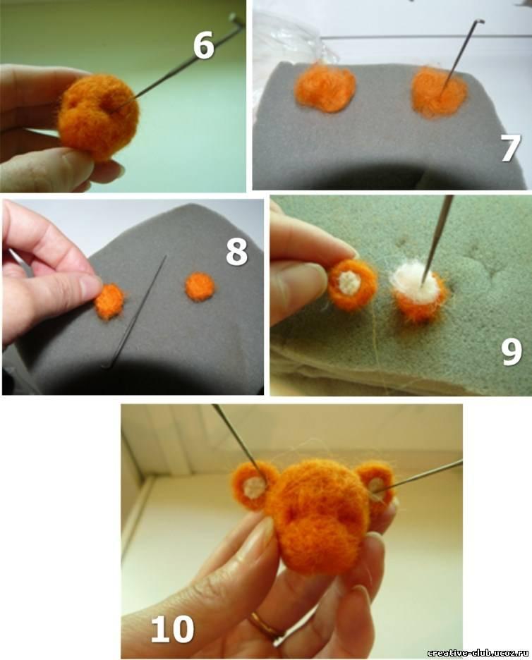 Валяные игрушки своими руками. как сделать